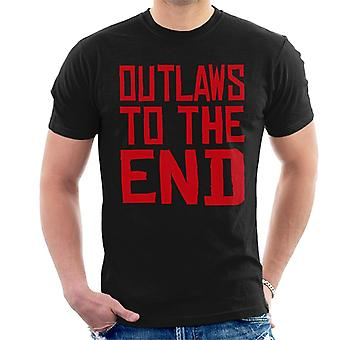 Outlaws To The End Red Dead Redemption Men's T-Shirt