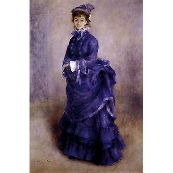 The Parisian Woman, Pierre Renoir, 40x60cm with tray