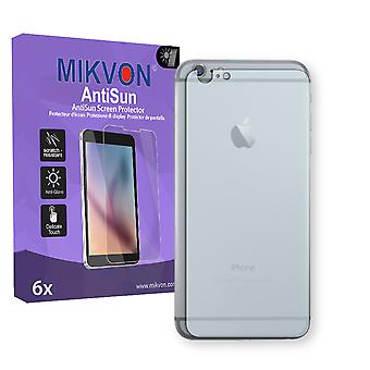 Apple iPhone 6 PLUS reverse Screen Protector - Mikvon AntiSun (Retail Package with accessories)