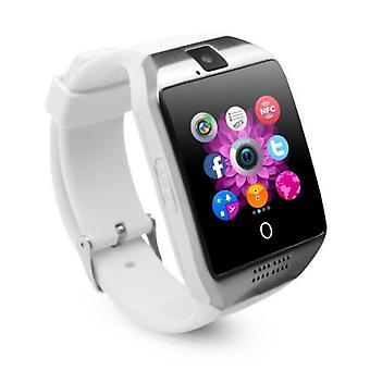 Stuff Certified ® Original Q18 Smartwatch Curved HD Smartphone Watch OLED iOS Android White