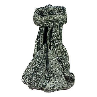 Muffler Scarf 0973 in Fine Pashmina Wool Heritage Range by Pashmina & Silk