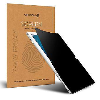 Celicious Privacy 2-Way Anti-Spy Filter Screen Protector Film Compatible with Apple iPad Air