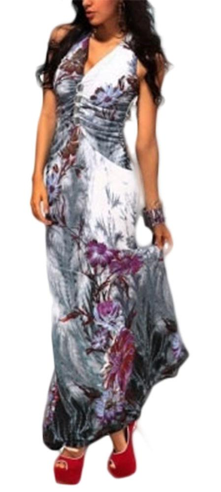 Waooh - Dress summer flower pattern Dern