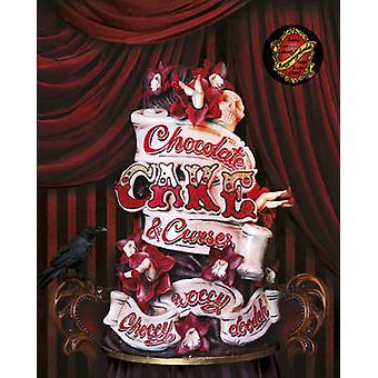 Choccywoccydoodah - Chocolate - Cake and Curses by Christine Taylor -