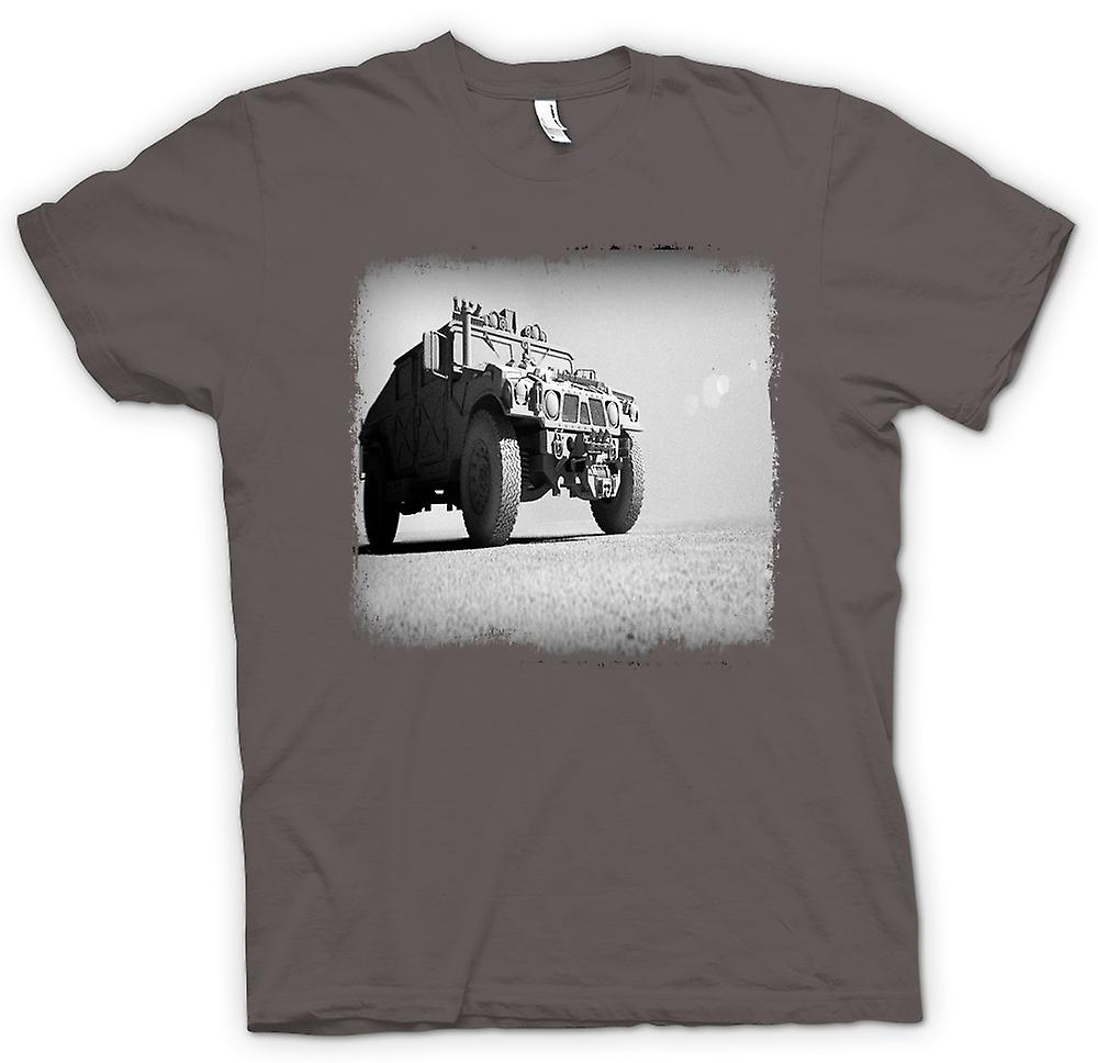 Womens T-shirt - US Army Humvee - Desert Warrior