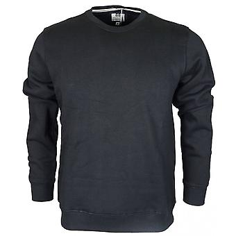 Weekend Offender Olivares Black Long Sleeve Sweatshirt