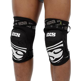 IXS Black 2018 Hack EVO Pair of MTB Knee Guard