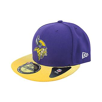 New Era 59Fifty NFL Minnesota Vikings Entwurf Cap violett