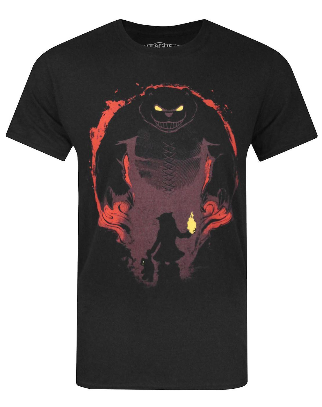 League Of Legends Have You Seen My Tibbers Men's T-Shirt Black