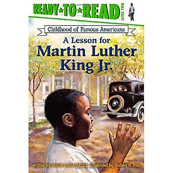 Una lezione per Martin Luther King Jr. (Ready-To-Read)