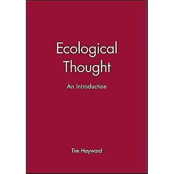 Ecological Thought: An Introduction (Making of Europe)