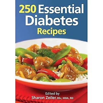 250 väsentliga Diabetes recept