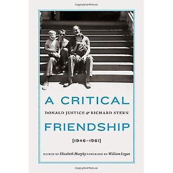 Una amistad crítica: Donald justicia y Richard Stern, 1946-1961