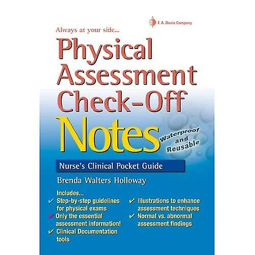 Physical Assessment Check-Off Notes (Nurse&s Clinical Pocket Guides)