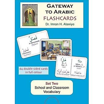 Flashcards: School and Classroom Vocabulary Set 2 (Gateway to Arabic)