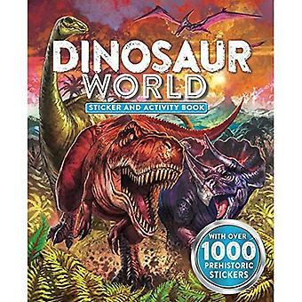 Dinosaur World Sticker and Activity Book