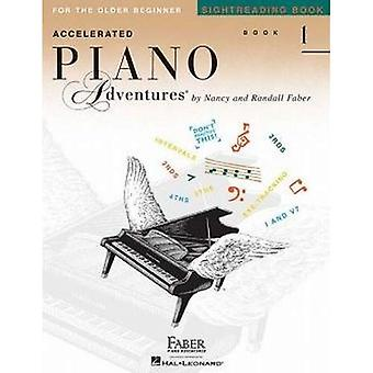 Faber Nancy & Randall Accelerated Piano Adventures Sightreading Bk1 Pf