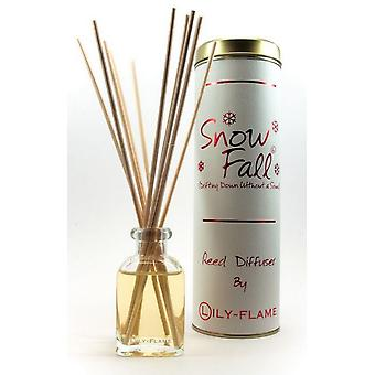 Lily flamme duftende Reed Diffuser - snefald