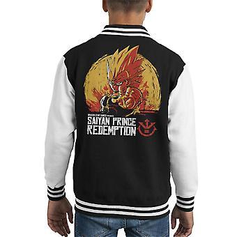 Dragon Ball Z Saiyan Prins verlossing Kid's Varsity Jacket