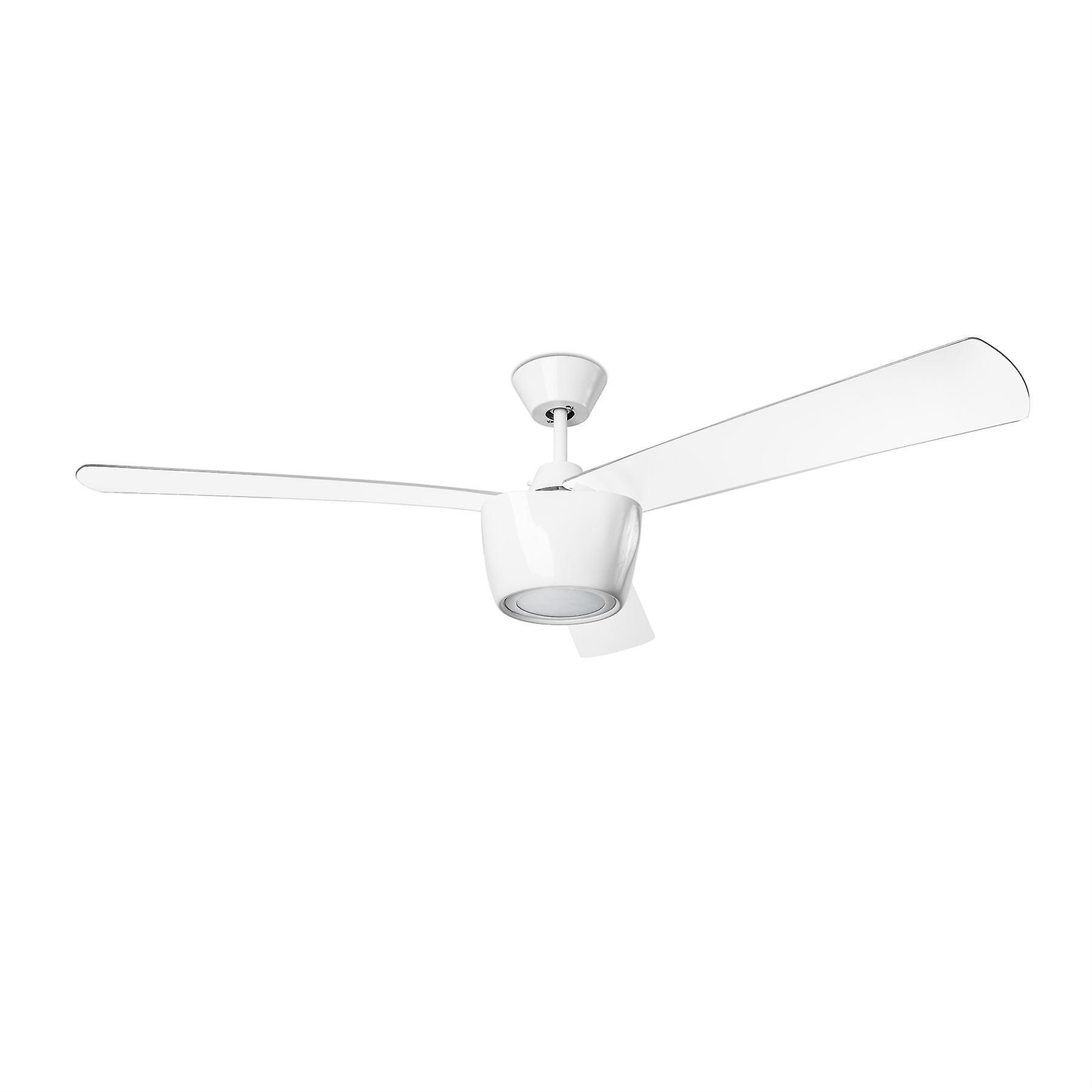 Ceos blanc Ceiling Fan & lumière Fixture - Leds-C4 30-3250-CF-M1