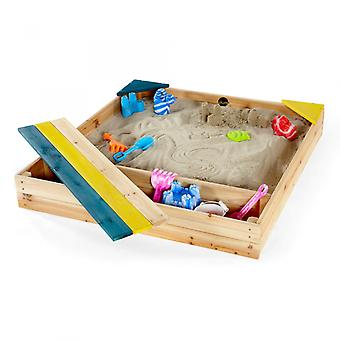 Plum Store It Wooden Sand Pit Outdoor Play