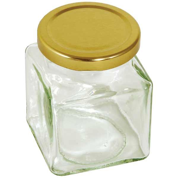 Square preserving jar - 200g  7 oz