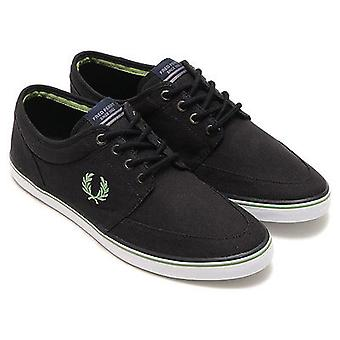 Fred Perry Stratford Canvas Trainers B8284-220