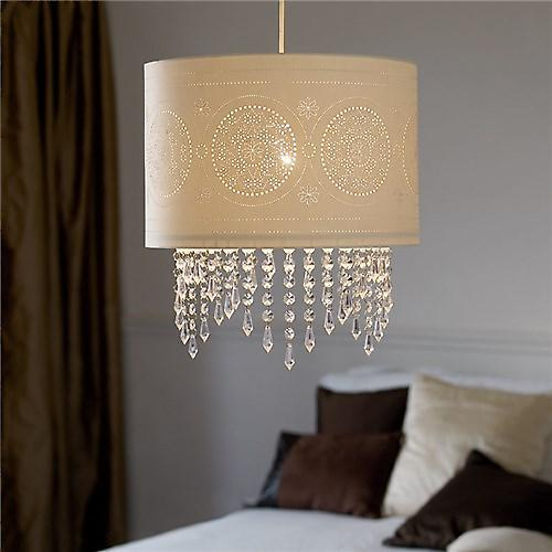 Endon NE-96063 Non Electric Laser Cut Pendant Shade With Acrylic Beads