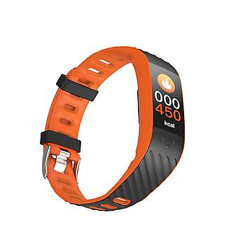 P4 Aktivitetsarmband med blodtrycks- och pulsmätare - Orange