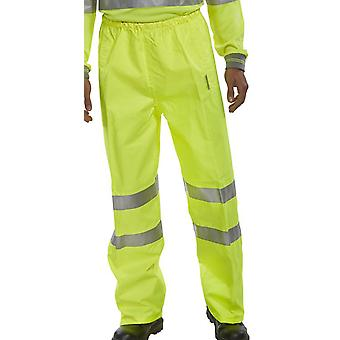 B-Seen Hi Vis Birkdale Waterproof And Breathable Trousers En471 - Bit