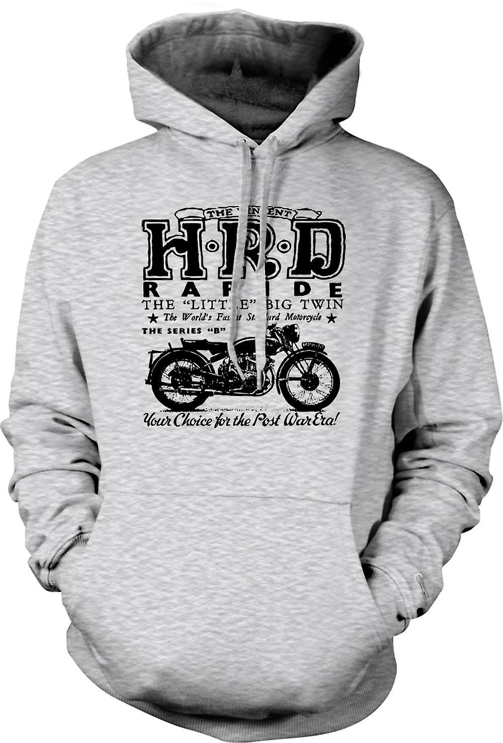 Bicicleta clásica para hombre con capucha - Vincent Hrd Rapide-