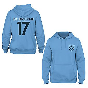 Kevin De Bruyne 17 Manchester City Style Player Hoodie