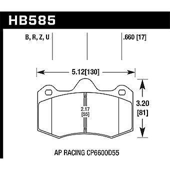 Hawk Performance HB585B.660 HPS 5.0