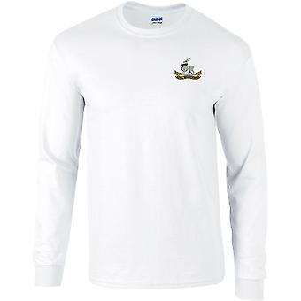 Royal Warwickshire Regiment - lizenzierte britische Armee bestickt langärmelige T-Shirt
