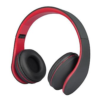 Andoer lh-811 wireless stereo bluetooth 3.0 edr headphone card mp3 player fm radio wired headset with mic