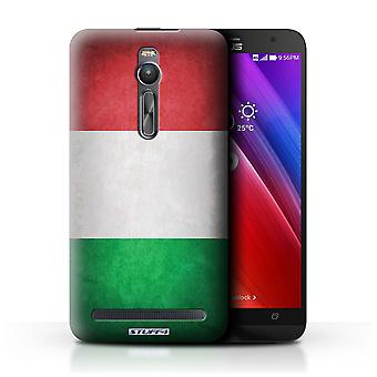 STUFF4 Case/Cover for Asus Zenfone 2 ZE551ML/Italy/Italian/Flags