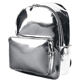 Urban Classics MIDI metallic tilbake Pack ryggsekk-28 cm-8 L-sølv
