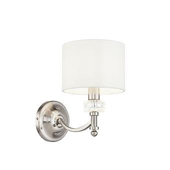 Maytoni Lighting Alicante Nickel Wall Lamp 1 X 40W
