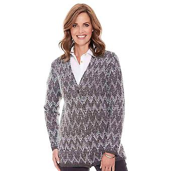Ladies Womens Soft Cardigan