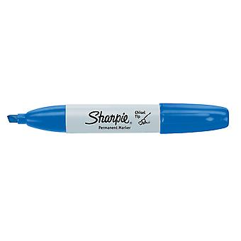 Sharpie Chisel Tip Permanent Marker Open Stock-Blue 38282