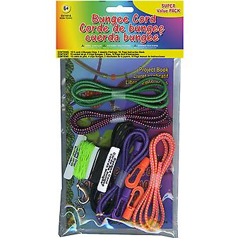 Bungee Cord Super Value Pack 5 Colors Pkg 15' Total Sv 1818