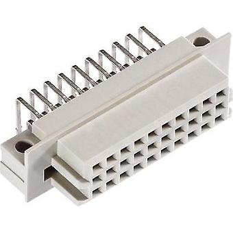 Edge connector (receptacle) R/3 30F abc 3 mm DS 90°class 2 Total number of pins 30 No. of rows 3 ept 1 pc(s)
