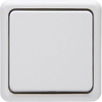Kopp Cross-switch Standard surface-mount Arctic white 513702008