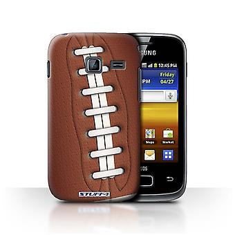 STUFF4 Case/Cover for Samsung Galaxy Y Duos/S6102/American Football/Sports Balls