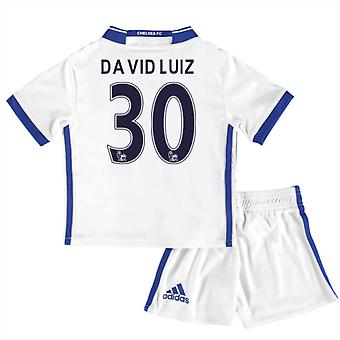 2-16-17 Chelsea Third Mini Kit (David Luiz 30)