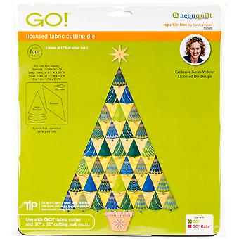 GO! Fabric Cutting Dies-Sparkle Tree By Sarah Vedeler 55095