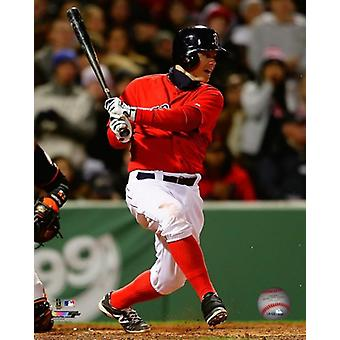 Brock Holt 2014 Action Photo Print
