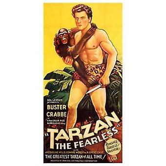 Tarzán el Fearless c1933 Movie Poster (11 x 17)