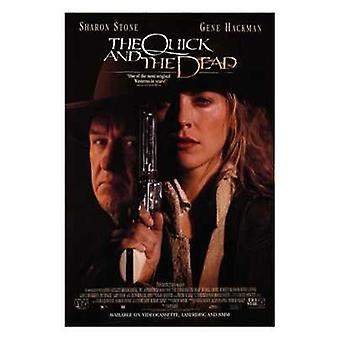 The Quick and the Dead Film-Poster (11 x 17)