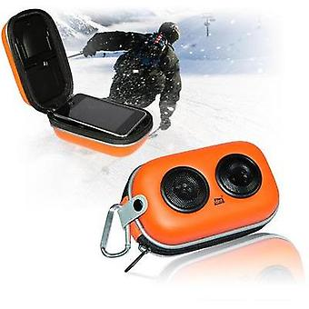 Mini speaker dnt SOUNDBOX X-01 Aux, Outdoor Orange